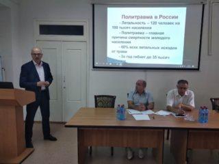 На базе ЦГБ Дербента прошла научно-практическая конференция по вопросам оказания ортопедо-травматической и антирабической помощи населению.