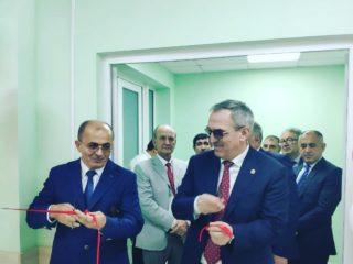 Министр здравоохранения республики посетил ЦГБ г. Дербент с рабочим визитом.