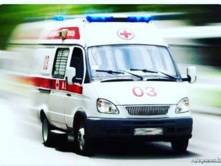 Ребёнка доставила бригада скорой помощи, с диагнозом