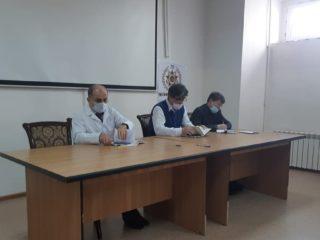 20 апреля главврач ЦГБ Дербента Абдулкафар Шихмагомедов провел заседание инфекционного штаба