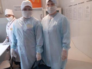 В Дербенте продолжается процесс взятия анализов (мазок из носо- и ротоглотки) и ежедневной  транспортировки биоматермалов в Махачкалу, в основном в вирусологическую лабораторию ФБУЗ «Центр гигиены и эпидемиологии по РД»