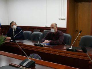 Заместитель министра здравоохранения РФ Виктор Фисенко прибыл с рабочим визитом в Дагестан