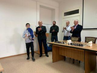 Сегодня, 23 февраля, у нас прошёл шахматный турнир среди детей медицинских работников ЦГБ Дербента.